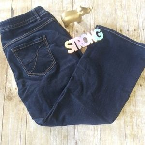 4/25 Lane Bryant Like new size 22Reg Flare Jeans